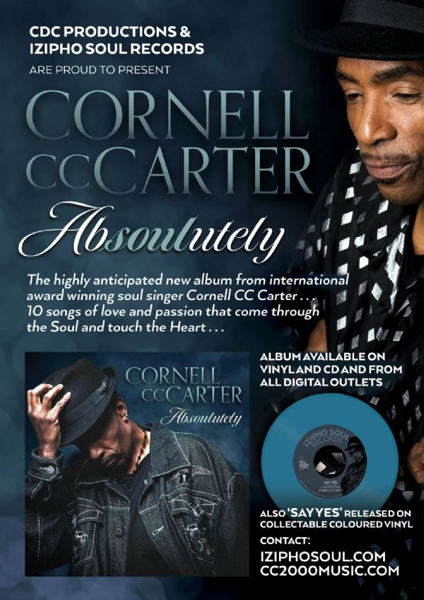 CORNELL CC CARTER – ABSOULUTELY.   The Vinyl LP